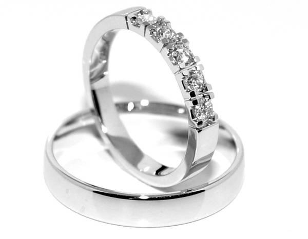 Forlovelsesringer SpesialPris med diamanter 0.25 ct w.si